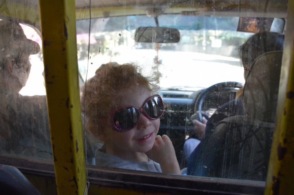 Bus public à Bagan