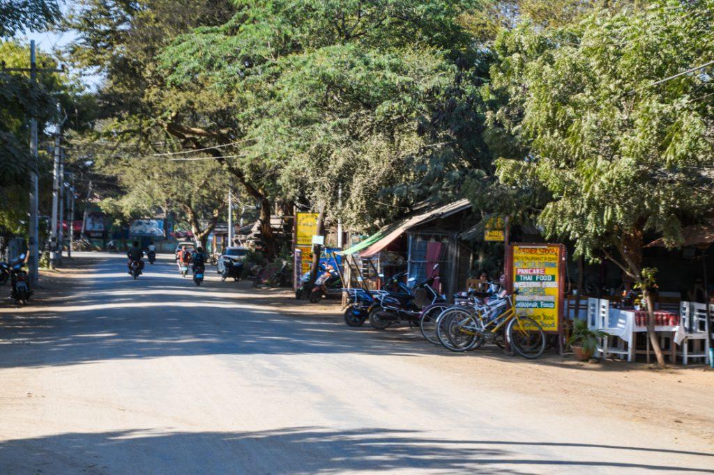 Rue à Bagan
