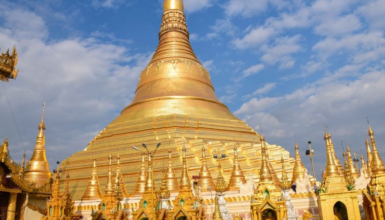 Yangon en famille Pagode Shwedagon
