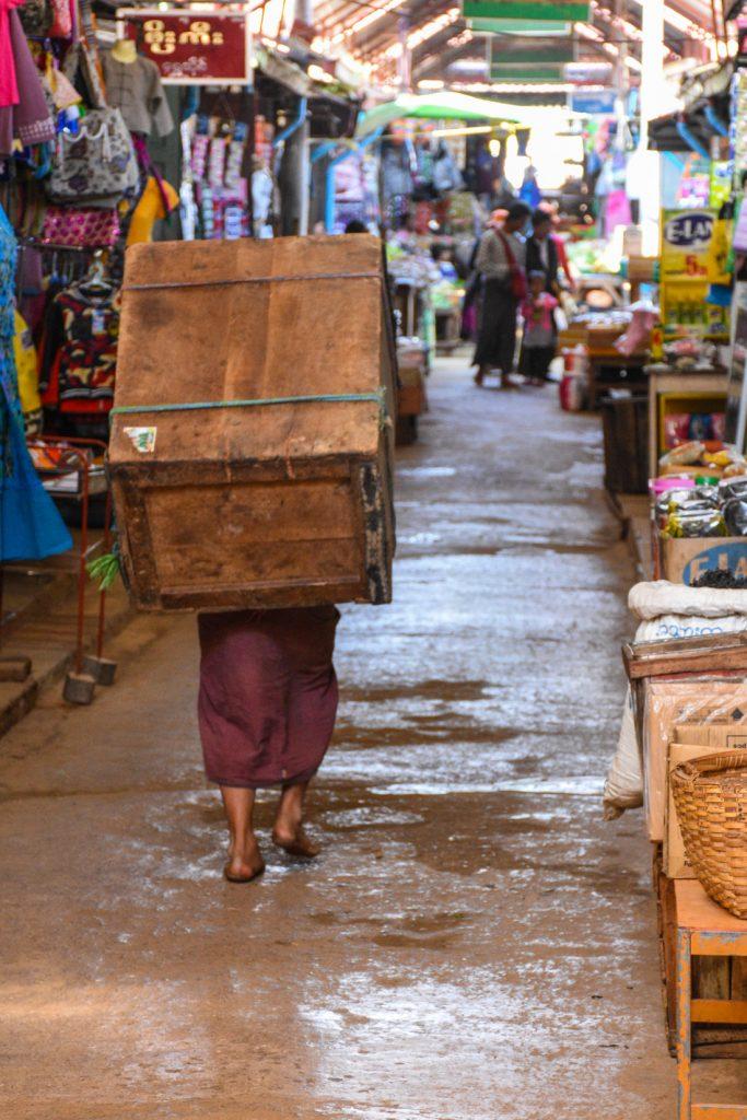 Kalaw au Myanmar (Birmanie)