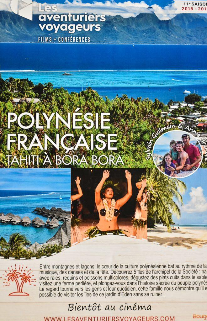 Affiche du film sur la Polynésie